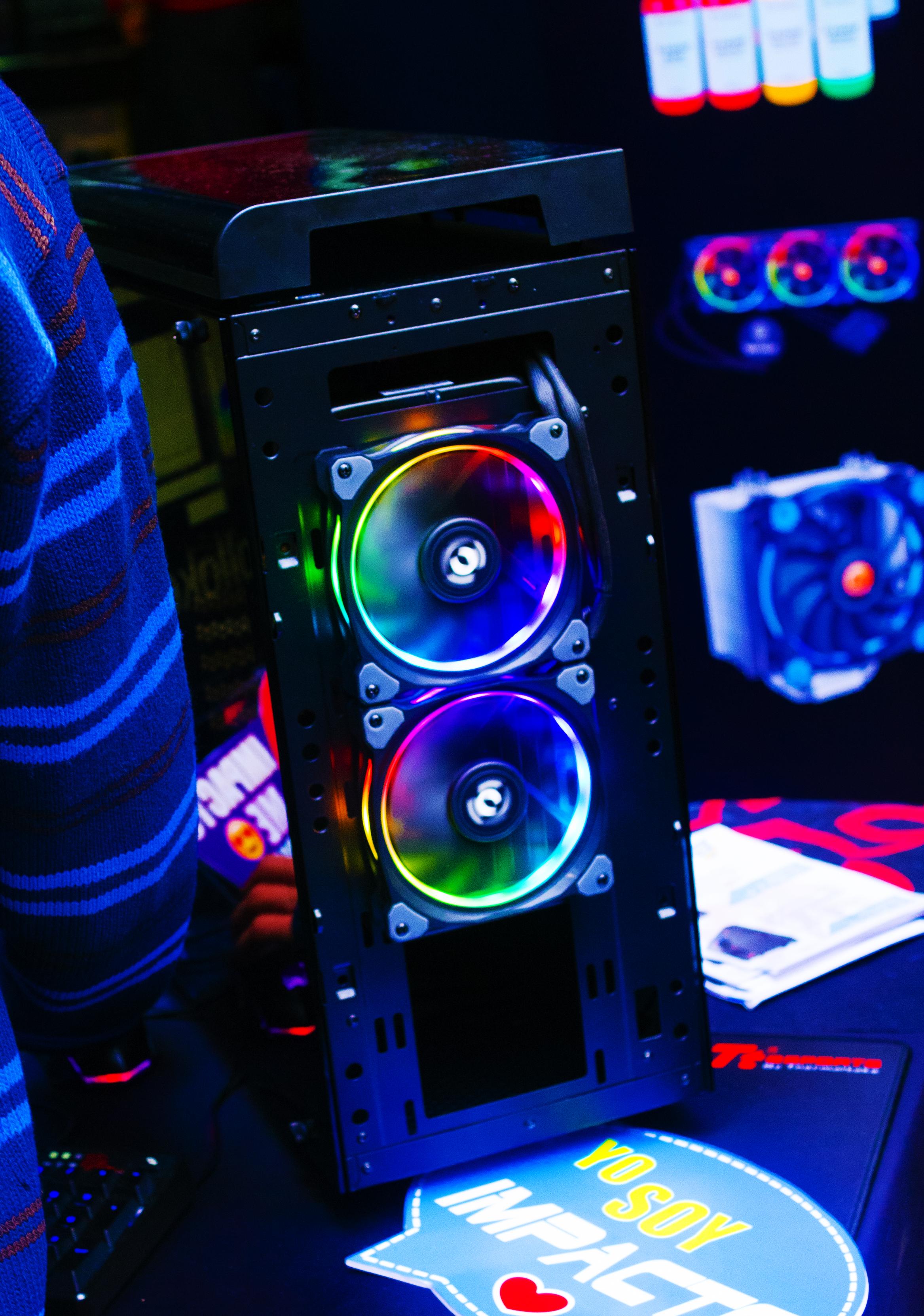 Bright Color Pc Build